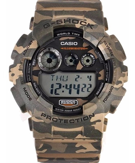 Relógio Casio G-shock Gd-120cm-5dr 12x S Juros Gd120