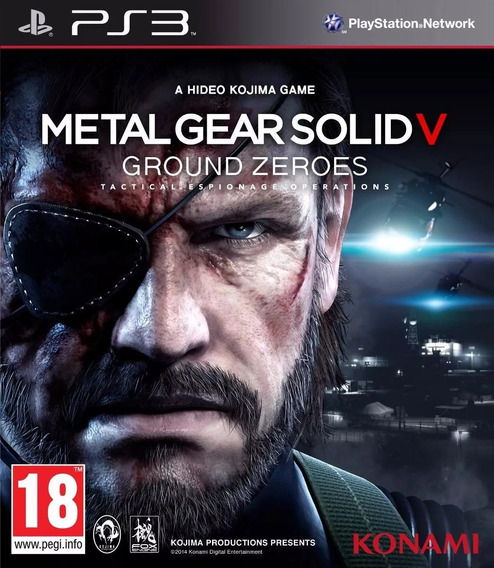 Metal Gear Solid V: Ground Zeroes Ps3 | Midia Física