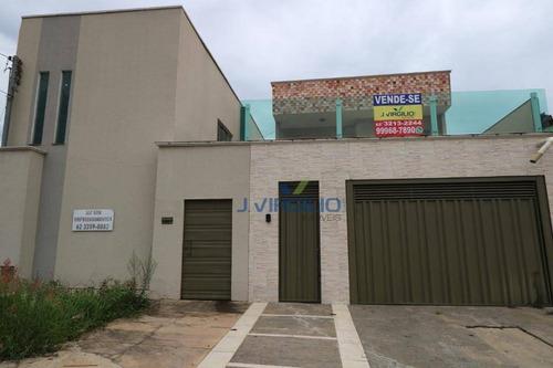 Sobrado Com 4 Quartos À Venda, 400 M² Por R$ 430.000 - Cardoso Continuação - Aparecida De Goiânia/go - So0104