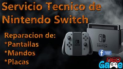 Servicio Técnico Reparación Nintendo Switch Mandos Joy Con