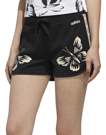 Short adidas Moda W Farm Rio Mujer Ng/bl