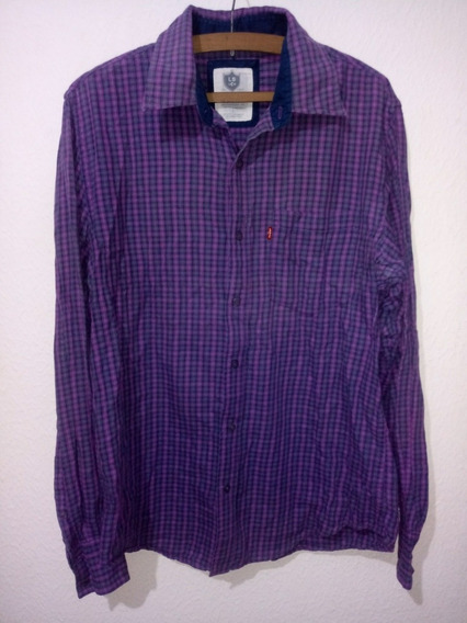 Camisa De Hombre Levis Talle L Classic One Pocket Oferta