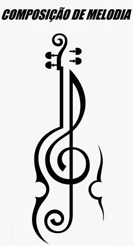 Imagem 1 de 3 de Composição Profissional Melodia Música 24 Hrs Violão Guitar