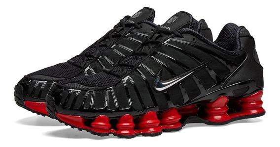 Tenis Nike X Skepta Shox Tl Bloody Chrome Originales Jordan