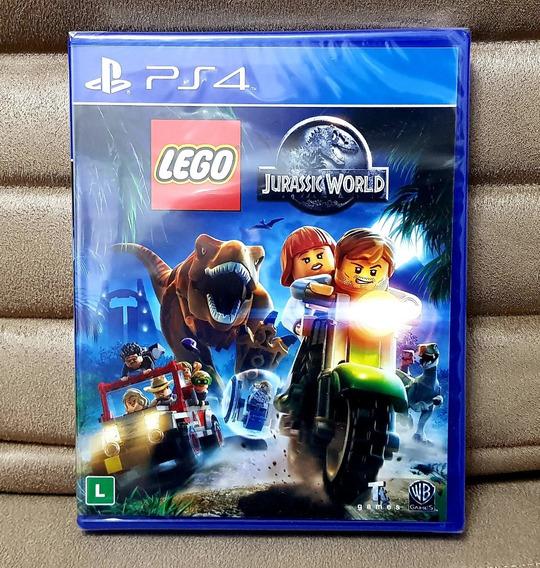 Ps4 Lego Jurassic World ( Mídia Física ) (português) Lacrado