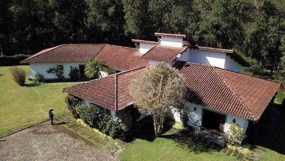 Sítio Com 6 Dormitórios À Venda, 12400 M² Por R$ 2.500.000,00 - Quebra Frascos - Teresópolis/rj - Si0007