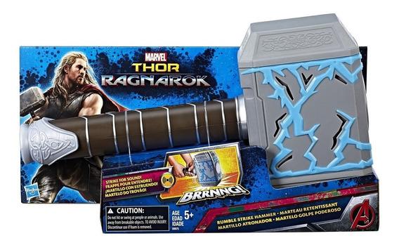 Thor Ragnarok Martillo De Thor Estruendo Vibra Sonido