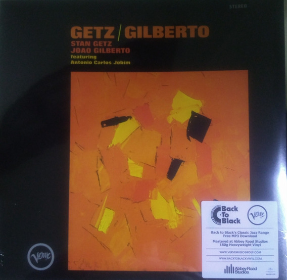 Lp João Gilberto Stan Getz Importado E Lacrado