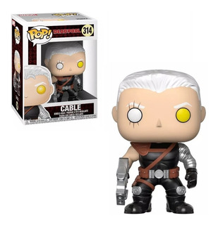 Figura Funko Pop Marvel Deadpool - Cable 314