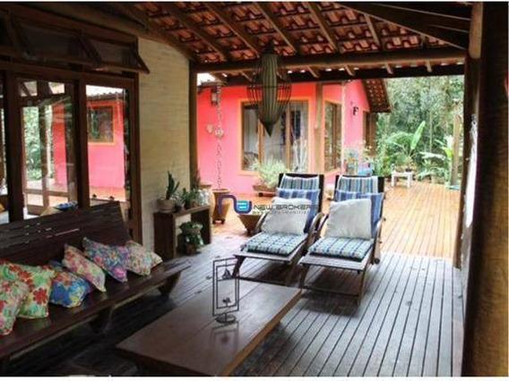 Casa Com 4 Dormitórios À Venda, 350 M² Por R$ 2.128.000 - B Una - São Sebastião/sp - Ca0555