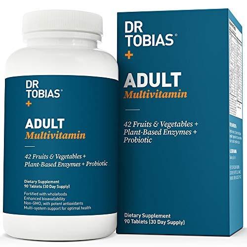 Imagen 1 de 5 de Dr Multivitamínico Tobias Adultos - Una Biodisponibilidad
