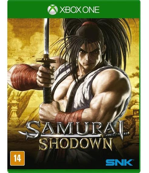 Samurai Shodown Xbox One Mídia Física