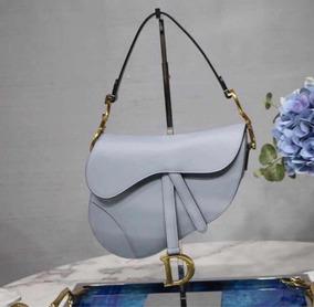 Bolsa Dior Saddle Azul - Pronta Entrega Importada