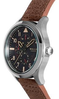 Reloj Walla - Timekeeper - Steel Classic