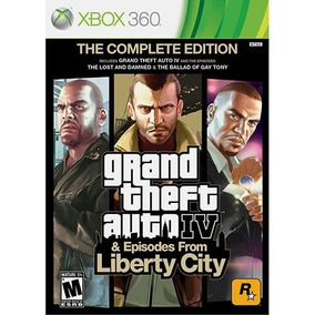 Gta - Grand Theft Auto Iv & Episodes From Liberty City Xbox