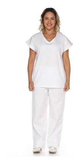Pijama Cirúrgico Scrubs Hospitalar Em Algodão