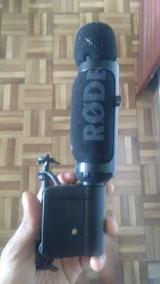 Microfone Externo Para Camera Fotográfica Profissional E Ou