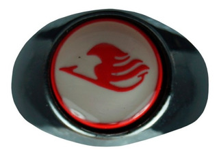 Fairy Tail Anillo Giratorio Importado Emblema Logo Natsu