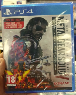 Metal Gear Solid V The Definitive Experience Ps4 Sellado
