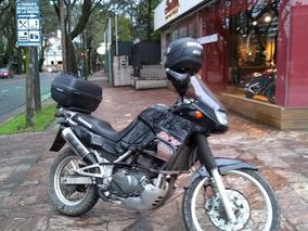 Kawasaki Kle 500 Japonesa - Alarma Puños - En Cuotas!!