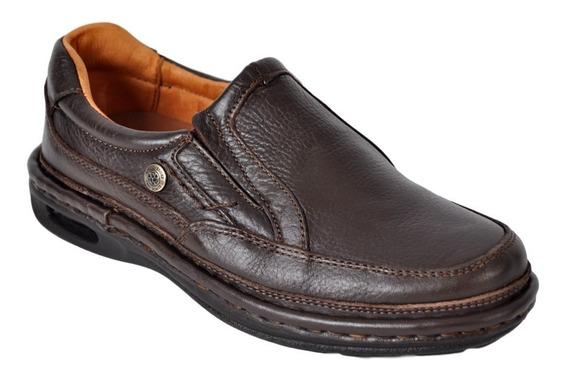 Zapato Hombre Cuero Vestir Ringo Walk01 Confort Air Invierno