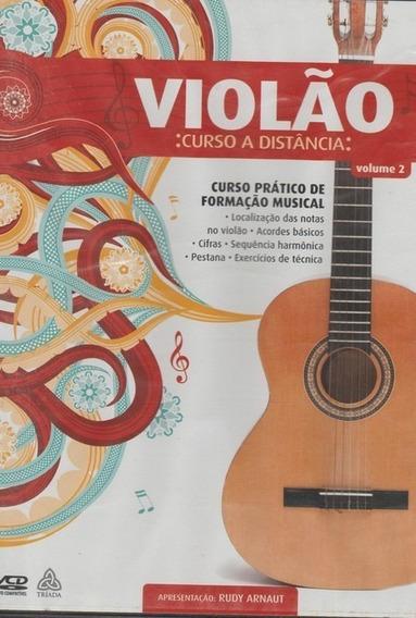 Violão: Curso A Distância - Dvd | Frete Grátis