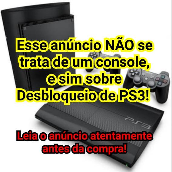 Playstation 3 - Desbloqueio Hen + 3 Mil Jogos