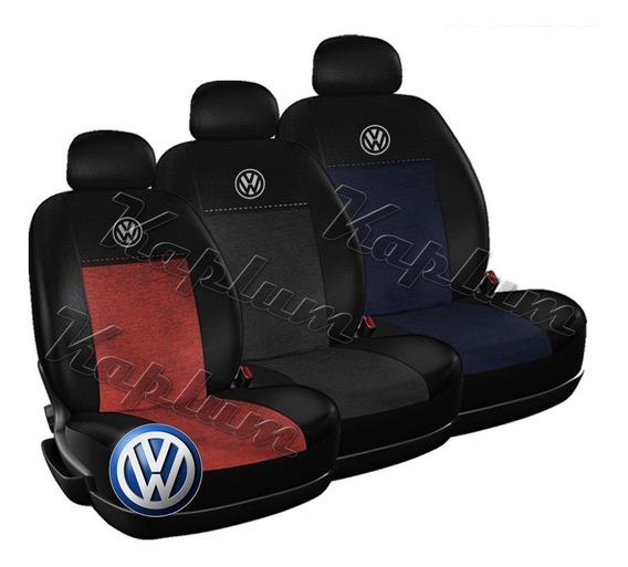 Funda Cubre Asiento Premium Volkswagen Fox Suran Polo Virtus