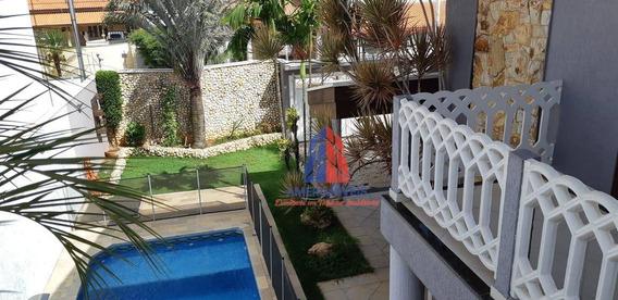 Sobrado Com 3 Dormitórios À Venda, 227 M² Por R$ 850.000,00 - Parque Residencial Jaguari - Americana/sp - So0263