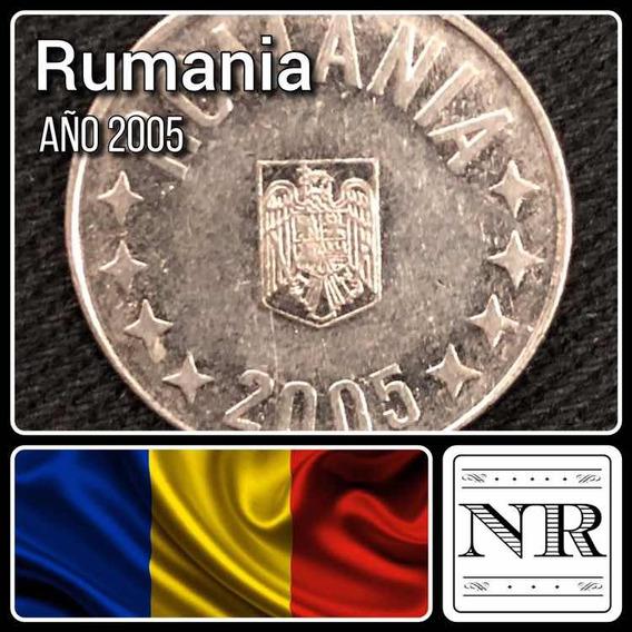 Rumania - 10 Bani - Año 2005 - Km # 191 - Aguila + Estrellas