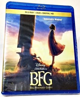 Blu Ray + Dvd Pelicula Mi Amigo El Gigante Bfg