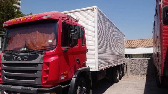Camion Jac Runner 1135 Año 2014 Doble Puente Y Plataforma