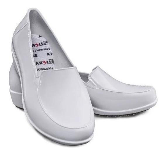 Calçado Antiderrapante Social Sticky Shoe Woman Ca 41532