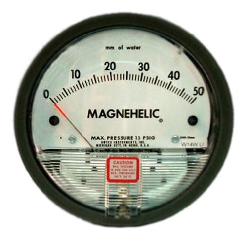 Manómetro Diferencial Magnehelic 0/50mm Ca Dwyer
