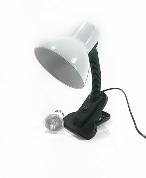 Kit Lampada Uv 2.0 De 50w Para Répteis Com Luminária