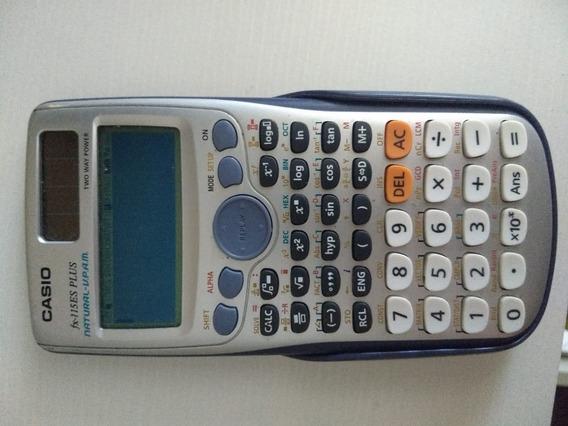 Calculadora Casio Fx115es Plus Com Carregamento Solar
