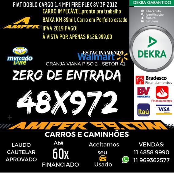 Fiat Doblo Cargo 1.4 Mpi Fire Flex 8v 3p 2012/12