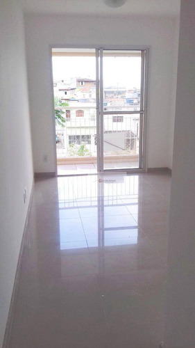 Apartamento Para Venda Com 3 Dormitórios E 1 Vaga Na Vila Ema - Ap0182