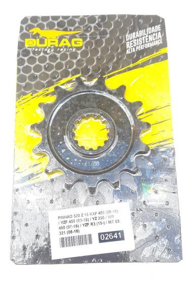 Pinhão 15 Dentes Durag Mt 03 321cc Yzf R3 321cc - Passo 520