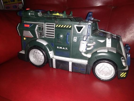 Camion Tortugas Ninja Swat Figuras Coleccion Tmnt Marvel Dc