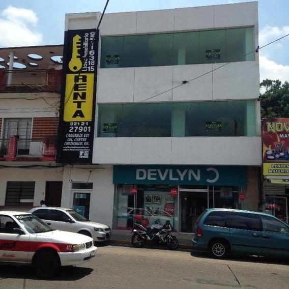 Edificio En Renta, Miguel Hidalgo, Col. Centro, Minatitlán