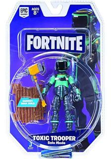 Fortnite Figura De Toxic Trooper 10 Cm Itm Fnt0075 Loonytoys