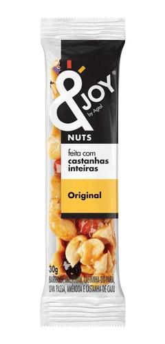 Imagem 1 de 3 de Barra Mixed Nuts &joy Agtal Original 30g - 1 Unidade