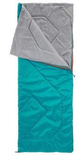 Saco Bolsa De Dormir Sleeping Bag, Transformable En Edredón, Ligero Y Compacto, Camping Quechua Arpenaz 20°