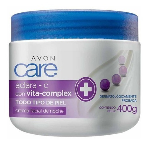Avon Care Crema Facial Aclara - C  Piel Sin Manchas Uniforme