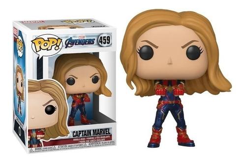 Funko Pop Avengers Capitana Marvel 459 Original !!