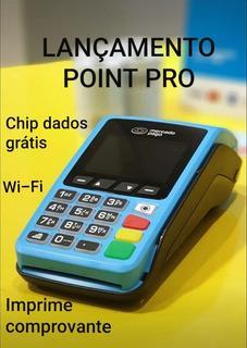 Oferta - Máquina De Cartão Point Pro Com Chip Grátis + Wifi
