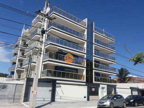 Apartamento Com 2 Dormitórios À Venda, 73 M² Por R$ 325.000 - Costazul - Rio Das Ostras/rj - Ap0491
