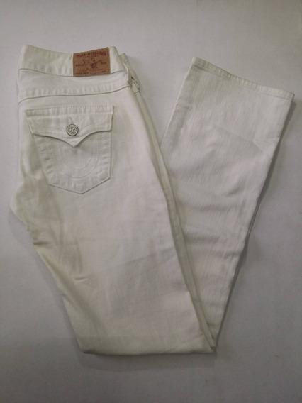 Pantalon True Religion Talla 28 Dama Corte Billy Skinny Uso