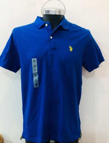 Camisa Us Polo Talla M Azul Nueva Original